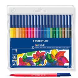 Staedtler 326WP20 Rotuladores 20 colores Noris