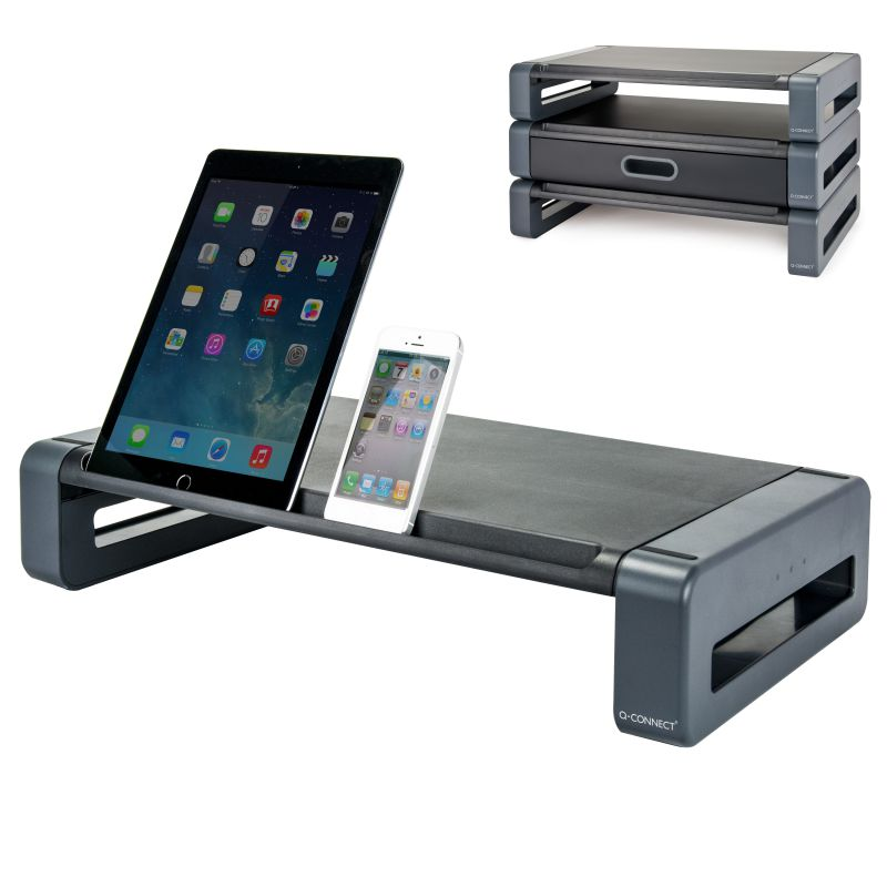 Comprar Soporte monitor, tablet, ipad o móvil Q-Connect Deluxe
