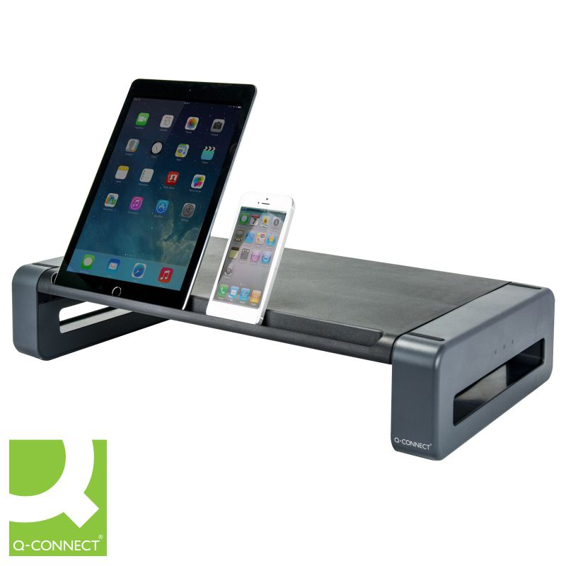 soporte monitor tablet ipad movil q connect deluxe