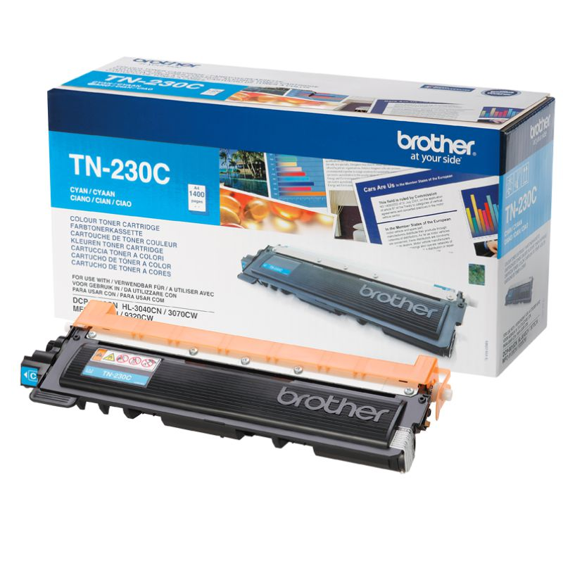 Comprar Toner impresora Brother TN230 C M o Y 1400 págs color