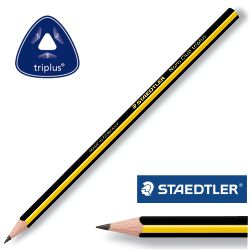 Lápices Staedtler Triplus Slim 118 Noris Club HB