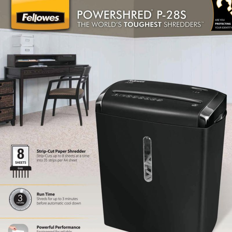 trituradora de papel fellowes p 28s 4710101