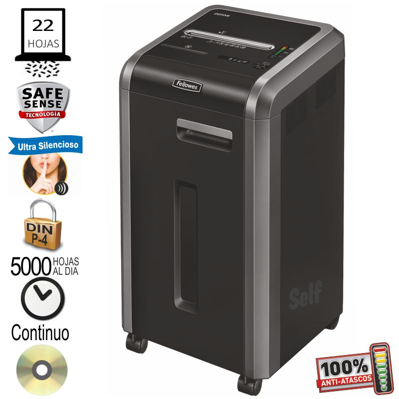 Comprar Fellowes 225ci Destructora de papel departamental 5 usuarios
