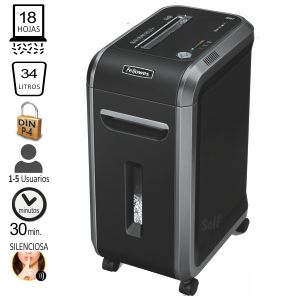 Fellowes 99Ci, Destructora Uso Intensivo, 18 hojas P-4