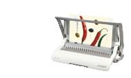 Encuadernadoras de canutillo plástico - gusanillo