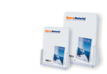 Expositor portafolletos sobremesa