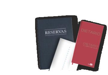 Libros de reservas y Dietarios 2020